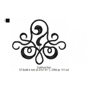 Embroidery file 024__Vari1-Curlicue