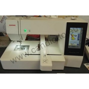 JANOME Memory Craft 500E Embroidery