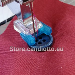 Presser foot for applying buttons with Janome 9mm