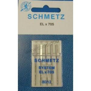 Cover stitch needle EL705 size 80-12