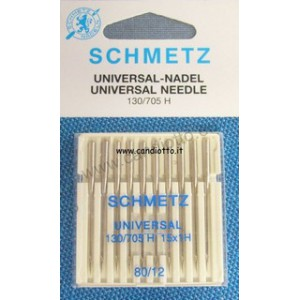 Universal needle 130-705H No. 80, 10 pcs in box