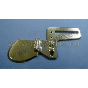 7mm Double hemmer for sewing machines